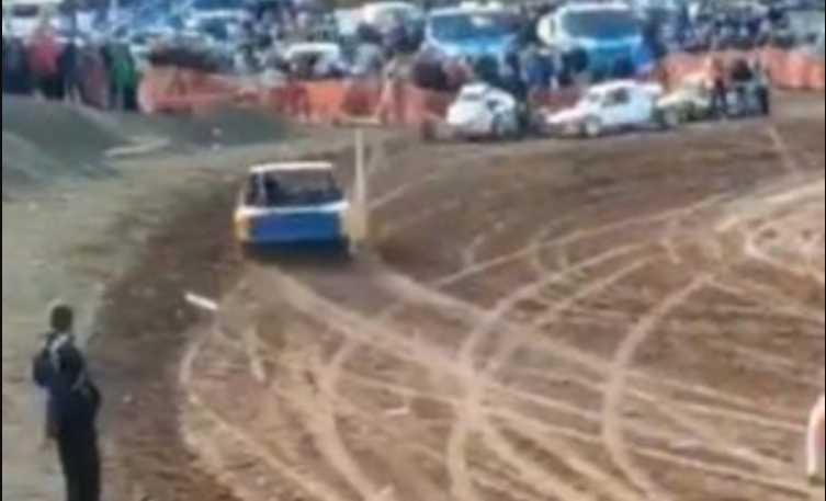 Во время гонки авто въехало в толпу: стал известной состояние пострадавших