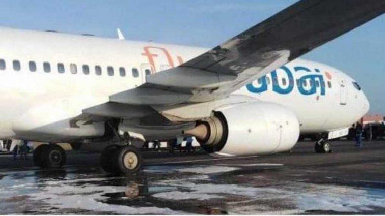 В Одесском аэропорту загорелся «Боинг»: первые подробности о состоянии пострадавших