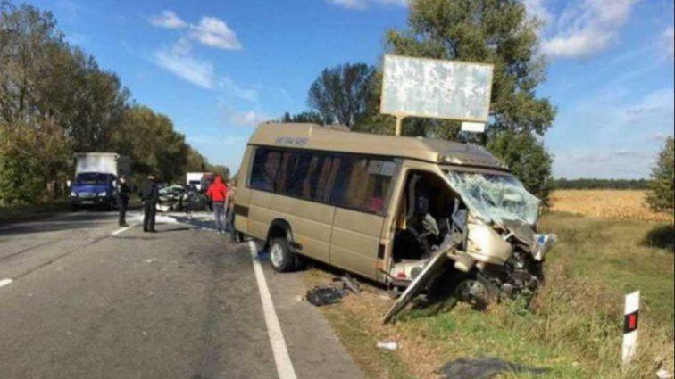 Микроавтобусы попали в смертельную аварию: первые подробности