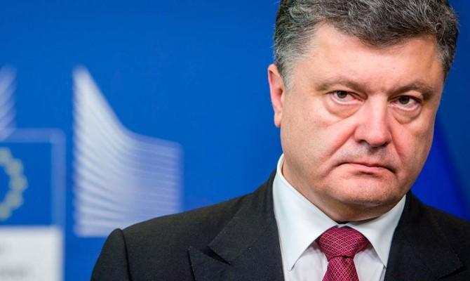 Доходы Порошенко в 2018 году выросли почти в восемь раз