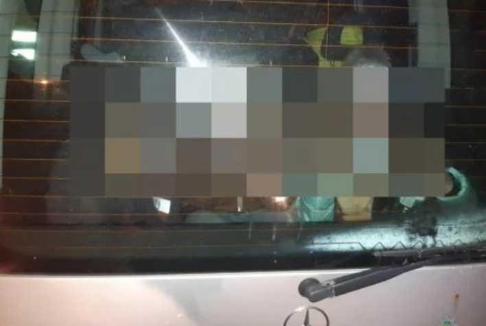Просто не поместились в салоне: Во Львове пьяная горе-мать перевозила в багажнике автомобиля троих детей