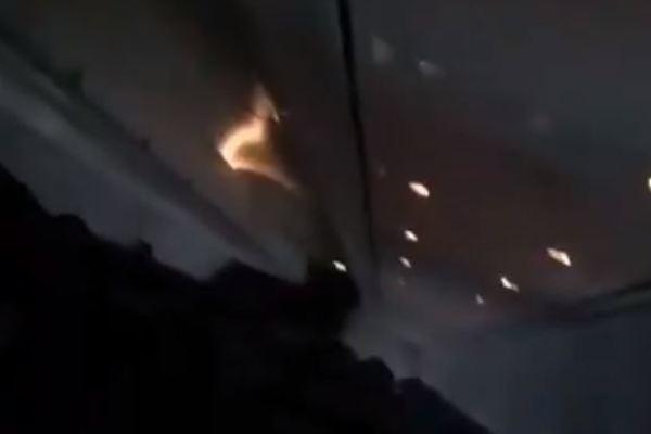 Пассажиры до последнего молились: появились жуткие кадры из салона падающего Boeing 737 за мгновение до аварии