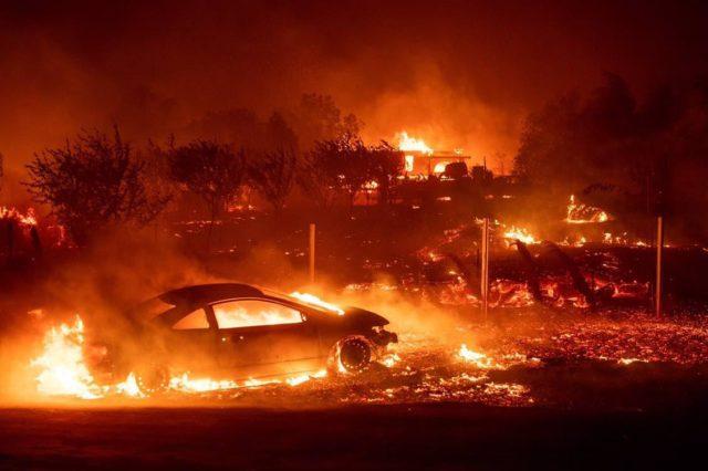 Огненный ад: пожар уничтожил целый город, много жертв