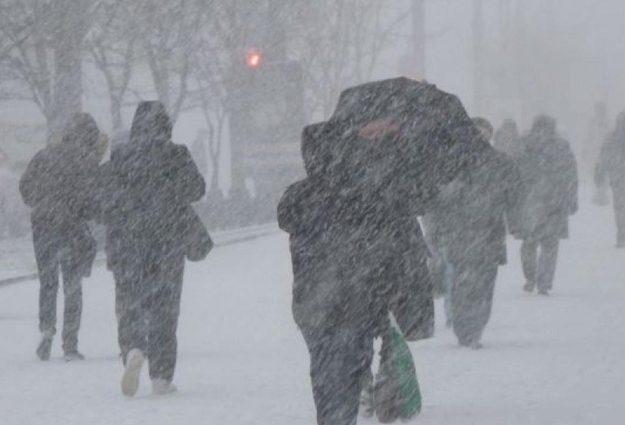 В Украине объявили штормовое предупреждение, пройдет снег с дождем