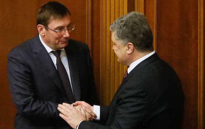 Пока народ считает деньги! Луценко и Порошенко уже и на памятниках пиарятся