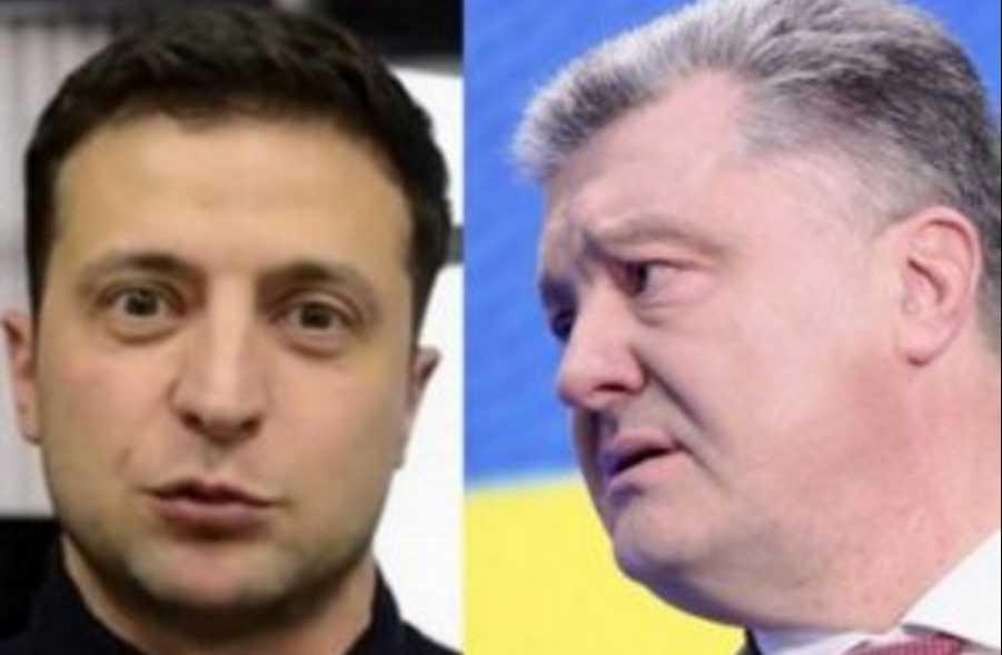 Зеленский «наступает на пятки» Порошенко: опубликовали свежий рейтинг