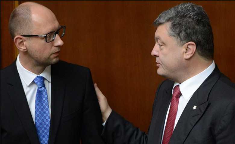 «Ты что, кампанию ведешь?»: Порошенко накинулся на Яценюка