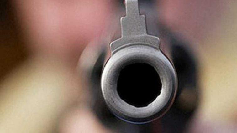 В Киеве расстреляли человека: появились первые фото