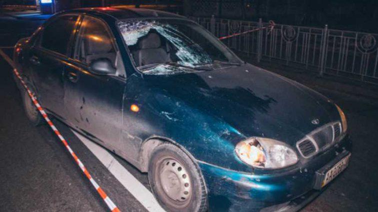 «Пьяная» ДТП на Харьковском шоссе: авто просто снесло пешехода