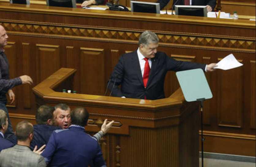 «Мне пох … р»: На заседании Рады произошла перепалка между Порошенко и нардепом Куприем