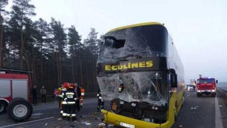 ДТП с украинским автобусом в Польше: в консульстве рассказали подробности