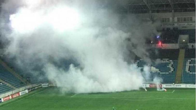 В Одессе во время матча произошел взрыв, первые подробности