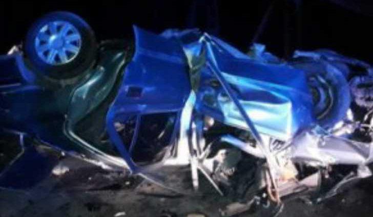 Роковая ДТП на украинском трассе: 18-летний евробляхер на высокой скорости влетел в бетонную опору