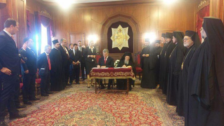 «Сегодня исторический день»: Порошенко и Варфоломей дали старт независимой церкви в Украине