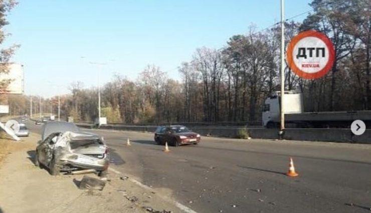 Машину развернуло на 180 градусов: В авто Лещенко врезался грузовик, первые подробности