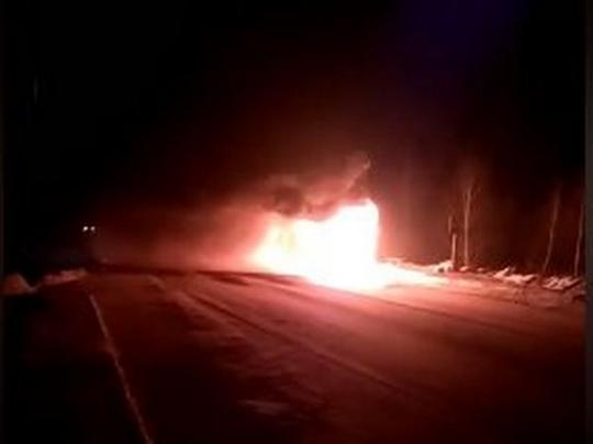 На Волыни загорелся автобус с людьми в салоне: первые подробности жуткого события