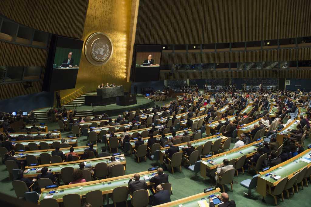 Поставили ультиматум России? Генассамблея ООН поддержала резолюцию о милитаризации