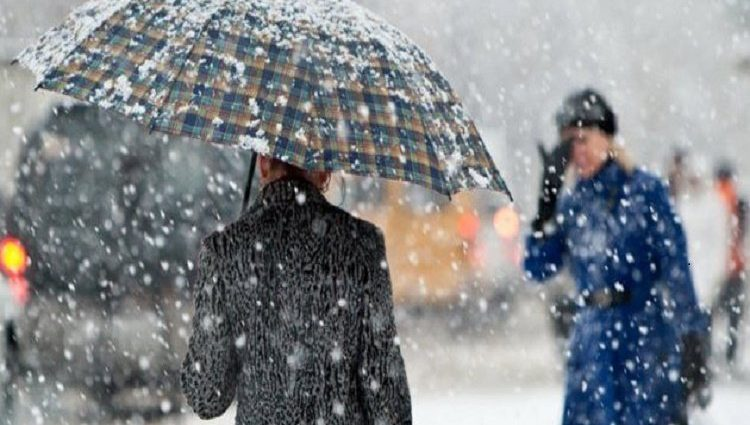 Почти по всей Украине — снег с дождем Прогноз погоды на 8 декабря