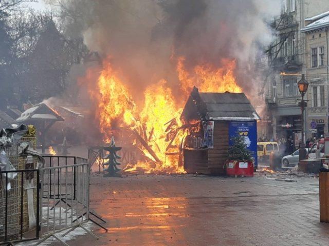 Взрыв на рождественской ярмарке во Львове: появились новые подробности жуткого инцидента