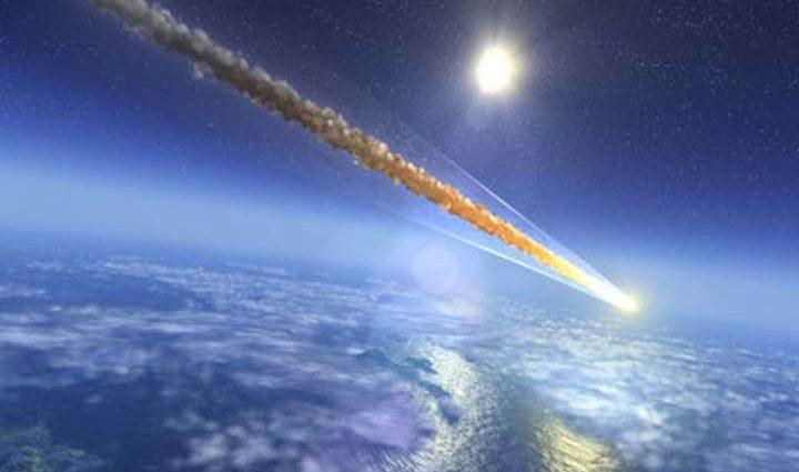 » Думал, граната бросили »: В Украине упал метеорит