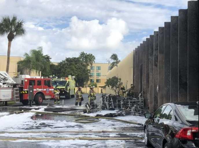 Самолет упал на детский лечебный центр: сообщили число погибших