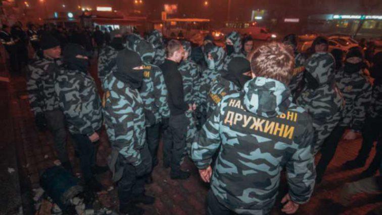 В Киеве штурмовали торговый центр: что там происходит