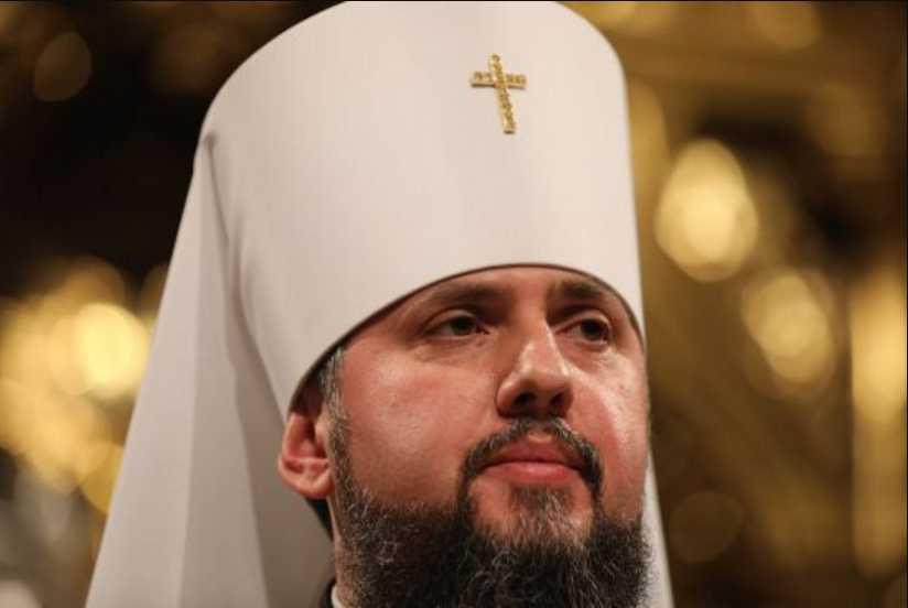 Епифаний начал первую литургию на посту главы Православной церкви Украины