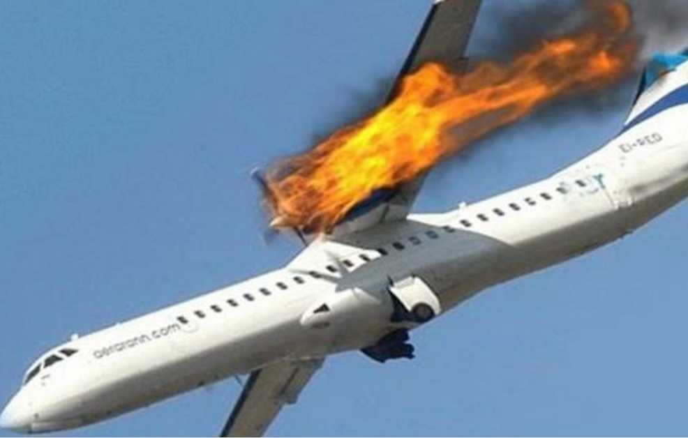 «Никто не выжил, обломки упали на дом» Самолет рухнул на футбольное поле