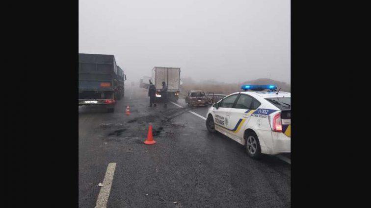Пять аварий одновременно: рассказали подробности масштабного столкновения на одесской трассе