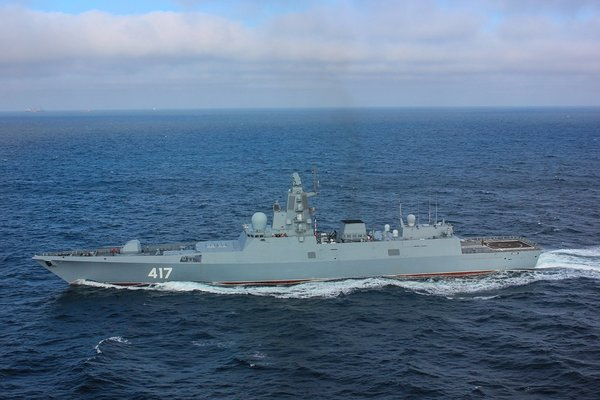 Россия направила в Азовское море вооруженный ракетный фрегат, что происходит