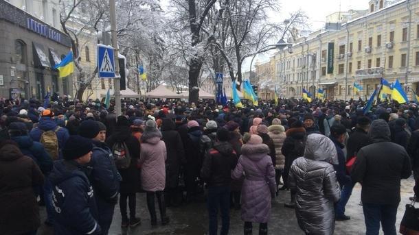 Вблизи Софии Киевской где начался объединительный собор задержали двух человек с оружием, первые подробности
