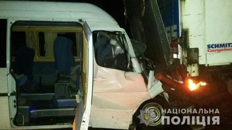 Жуткие ДТП с маршрутками: под Киевом пострадали 15 пассажиров