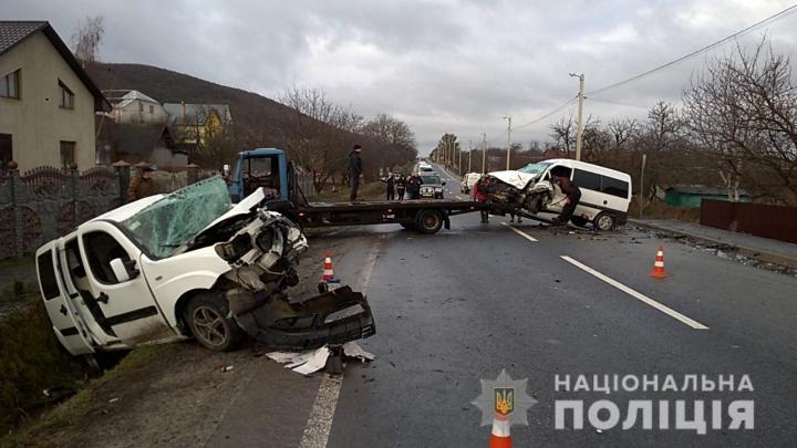 Роковая ДТП на Львовщине: Два легковушки на большой скорости столкнулись лоб в лоб