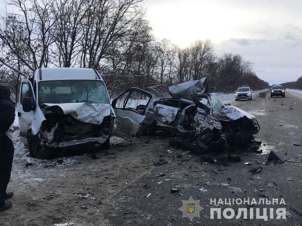 Двое в тяжелом состоянии: сообщили подробности жуткой ДТП в Харьковской области