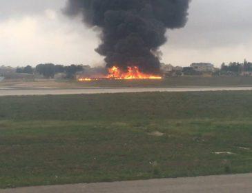 Пассажирский Боинг упал возле столицы: первые подробности жуткой трагедии