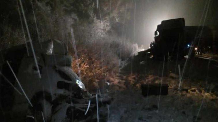 Роковая ДТП на Львовщине: Фура на скорости врезалась в два микроавтобуса, есть жертвы