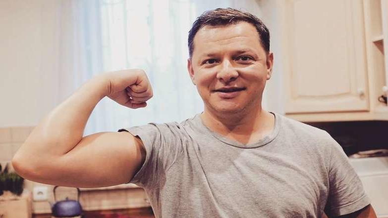 «Дядя Черномор и 33 богатыря!»: Ляшко вместе с радикалами отпраздновал Крещение