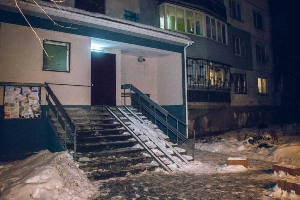 В Киеве студент-иностранец внезапно выбросился с 14 этажа