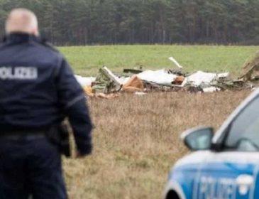 Самолет упал на поле и был уничтожен: погибли люди