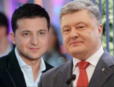 «Когда народ не видел»: Зеленский рассказал о встрече с Порошенко