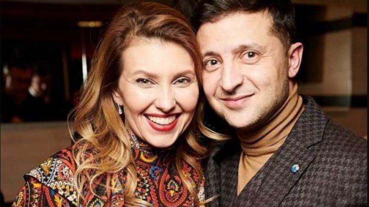 «Рядом со своей первой леди»: Зеленский показал как готовится к выборам