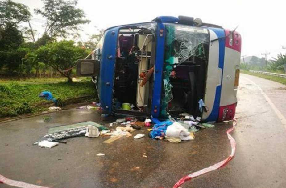 «Смертельный рейс»: Перевернулся туристический автобус, среди погибших есть ребенок