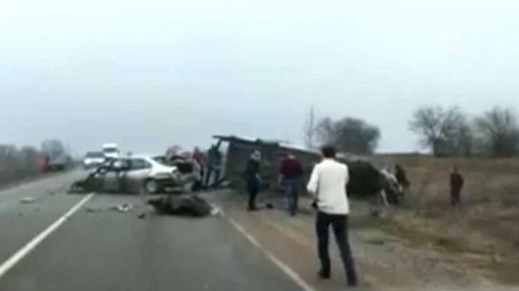 На Одесской трассе случилась кровавая авария с маршруткой, первые подробности