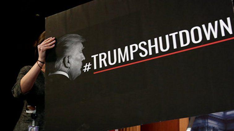 Трамп выступил с экстренным обращением к нации: «шатдаун» в разгаре