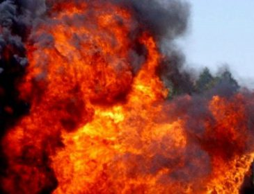 В центре прогремел мощный взрыв, все в огне: первые подробности трагедии