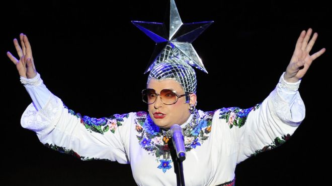 Это будет интересное шоу: Сердючка выступит на Евровидении от Украины в Тель-Авиве
