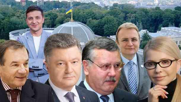 Они идут на выборы: Список кандидатов в Президенты Украины, подавших документы в ЦИК