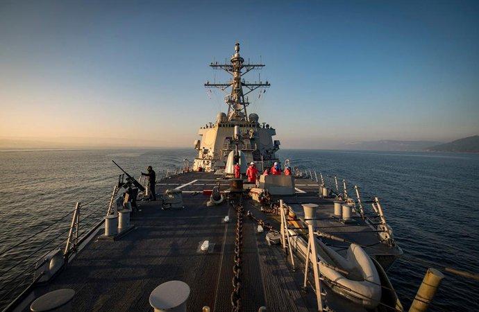 «Визит солидарности»: Американский эсминец направляется к берегам Украины