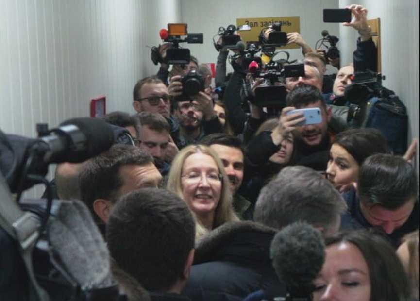 Суд по Супрун: истца Мосийчука встретили криками «Ганьба!»