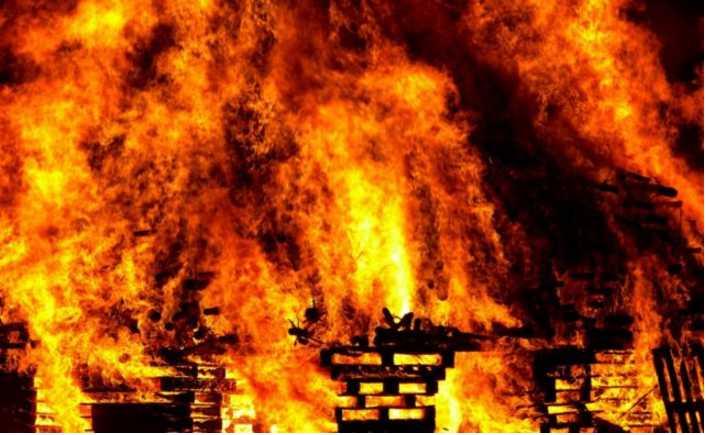 «Осталось загадочное послание»: Церковь УПЦ МП подожгли